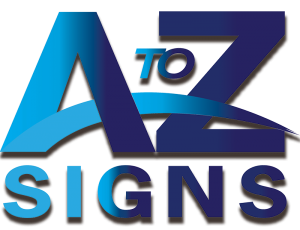A to Z Signs offering , banners, vinyl indoor and outdoor graphics, vehicle wraps, murals, storefront signage and so much more!